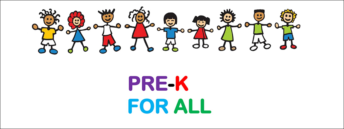 DWCA Pre-K for All flyer